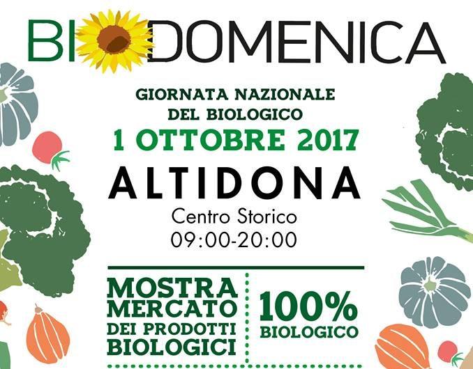 BIODOMENICA 2017
