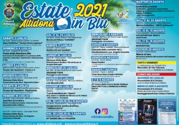 CALENDARIO EVENTI ESTIVI 2021